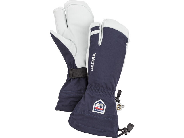 Hestra Army Leather Heli Ski Gants, navy